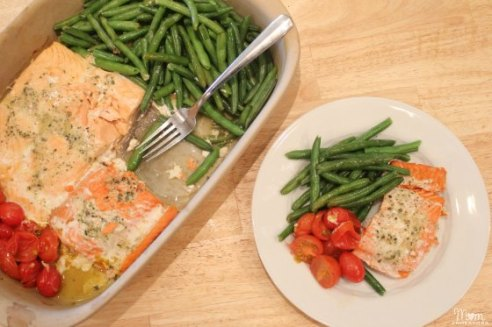 Baked-Salmon-Vegetables