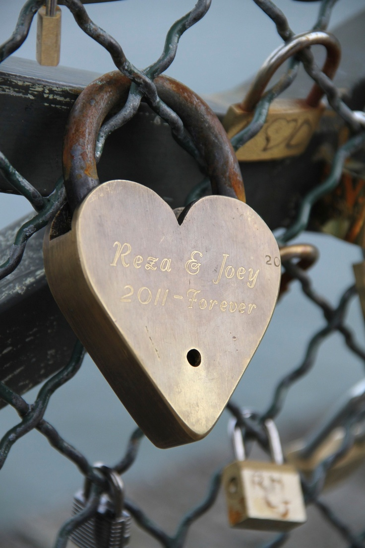 Love This Just Ideal For A Small Apartment: To Do List: Visit The Love Lock Bridge [Paris, Italy