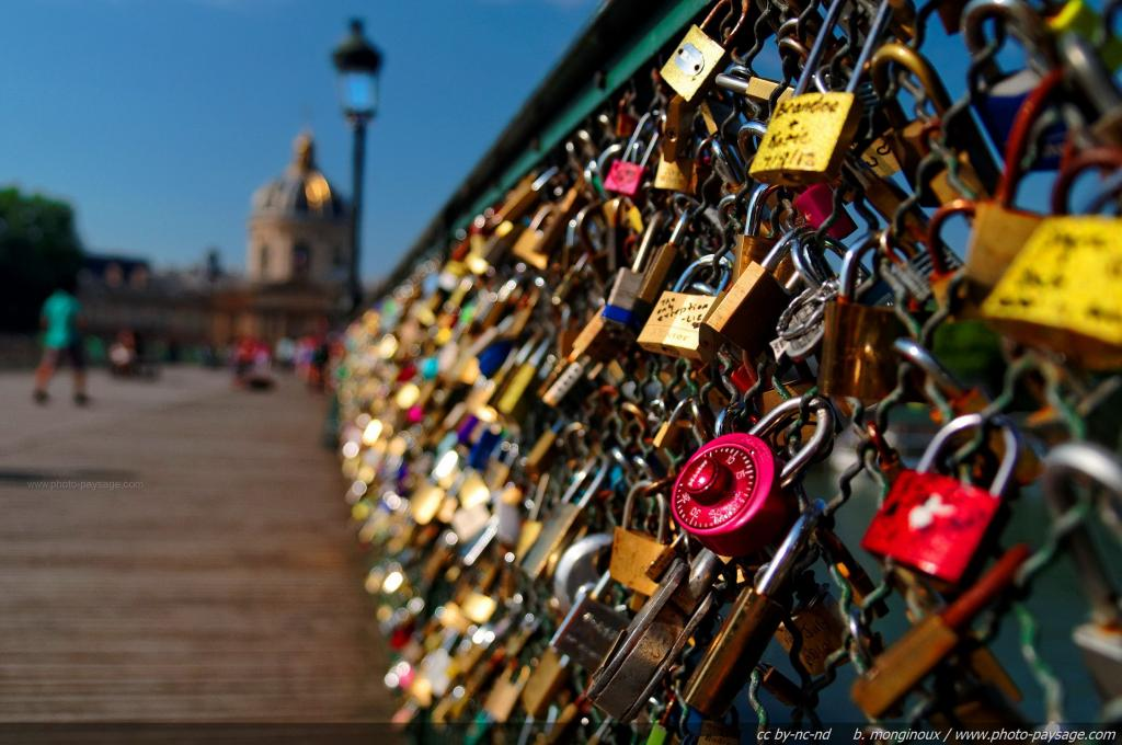 To do list visit the love lock bridge paris italy for Locks on the bridge in paris