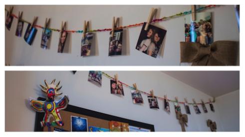 Hanging Photo